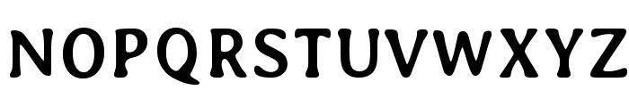 Averia-Bold Font UPPERCASE