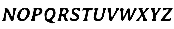 Averia-BoldItalic Font UPPERCASE