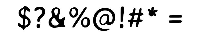 Averia Gruesa Libre Regular Font OTHER CHARS