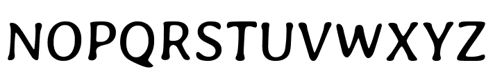 Averia Gruesa Libre Font UPPERCASE