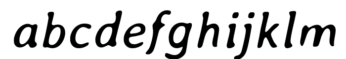 Averia-Italic Font LOWERCASE