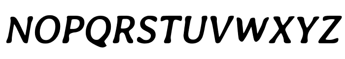 Averia Libre Bold Italic Font UPPERCASE
