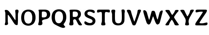 Averia Libre Bold Font UPPERCASE