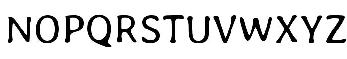 Averia Libre Light Font UPPERCASE