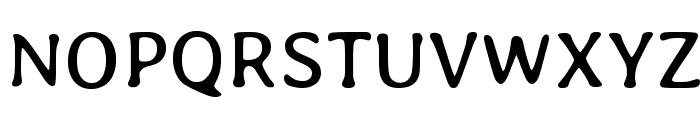 Averia Libre Regular Font UPPERCASE