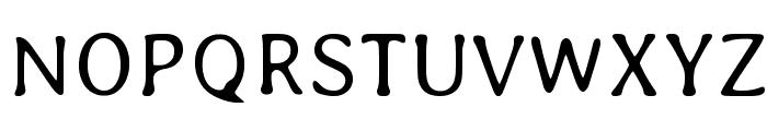 Averia-Light Font UPPERCASE