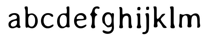 Averia-Light Font LOWERCASE