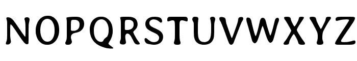 Averia-Regular Font UPPERCASE