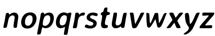 Averia Sans Libre Bold Italic Font LOWERCASE