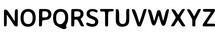Averia Sans Libre Bold Font UPPERCASE