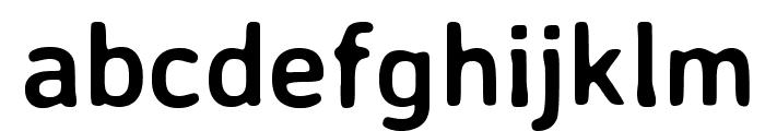 Averia Sans Libre Bold Font LOWERCASE