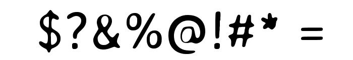 Averia Sans Libre Light Font OTHER CHARS