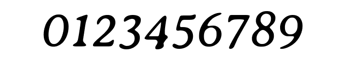 Averia Serif Libre Italic Font OTHER CHARS