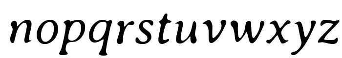 Averia Serif Libre Light Italic Font LOWERCASE
