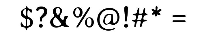 Averia Serif Libre Light Font OTHER CHARS