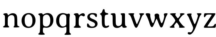 Averia Serif Libre Light Font LOWERCASE