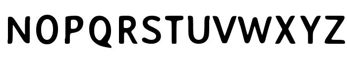 AveriaSans-Bold Font UPPERCASE
