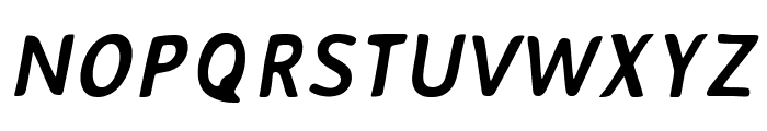 AveriaSans-BoldItalic Font UPPERCASE