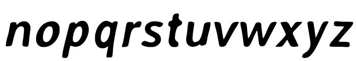 AveriaSans-BoldItalic Font LOWERCASE