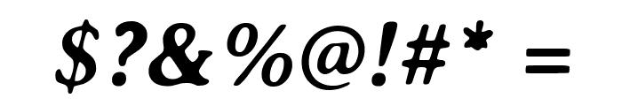 AveriaSerif-BoldItalic Font OTHER CHARS