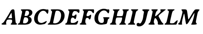AveriaSerif-BoldItalic Font UPPERCASE