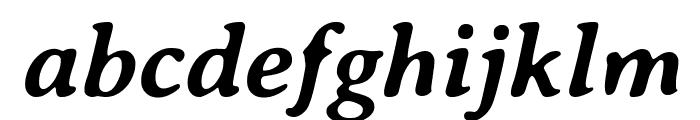 AveriaSerif-BoldItalic Font LOWERCASE