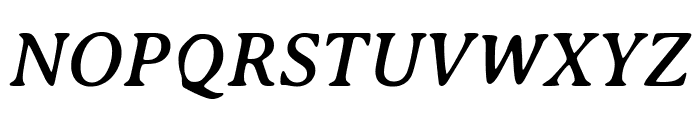 AveriaSerif-Italic Font UPPERCASE