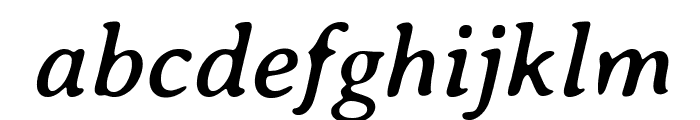 AveriaSerif-Italic Font LOWERCASE