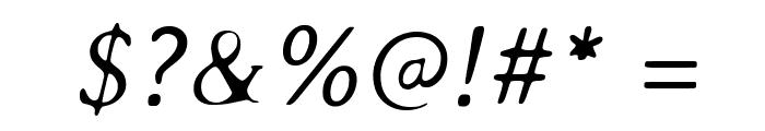 AveriaSerif-LightItalic Font OTHER CHARS