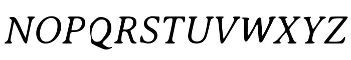 AveriaSerif-LightItalic Font UPPERCASE