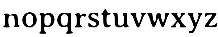 AveriaSerif-Regular Font LOWERCASE