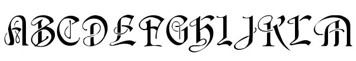 Averoigne Regular Font UPPERCASE