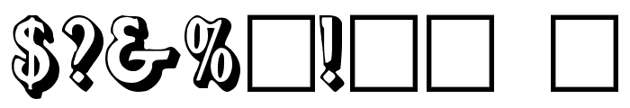 Avion Font OTHER CHARS