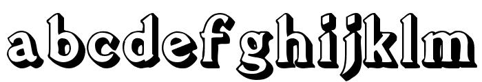 Avion Font LOWERCASE