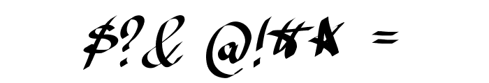 Avocado Font OTHER CHARS
