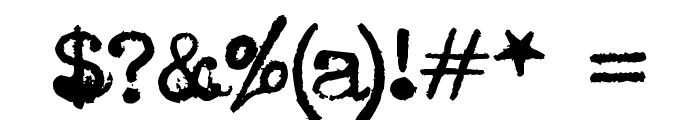 Avojaloin Font OTHER CHARS
