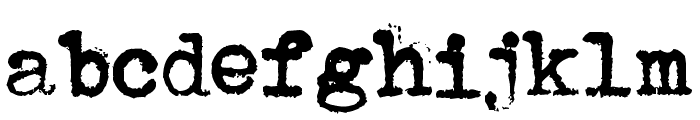 Avojaloin Font LOWERCASE