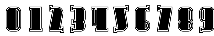 Avondale Inline Font OTHER CHARS