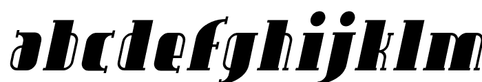 Avondale Italic Font LOWERCASE