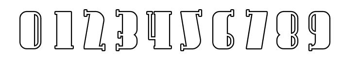 Avondale SC Outline Font OTHER CHARS