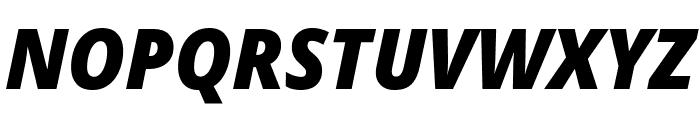 Avrile Sans Black Italic Font UPPERCASE