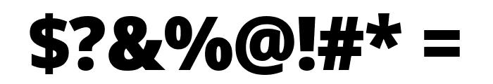 Avrile Sans Black Font OTHER CHARS
