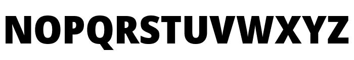 Avrile Sans Black Font UPPERCASE