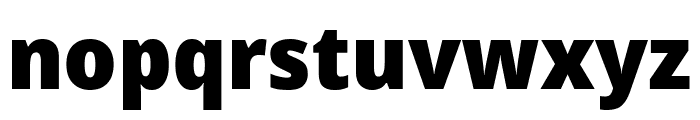 Avrile Sans Black Font LOWERCASE