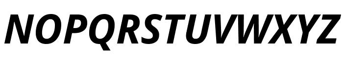 Avrile Sans Bold Italic Font UPPERCASE