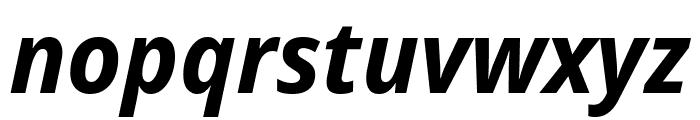 Avrile Sans Bold Italic Font LOWERCASE
