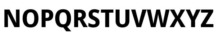 Avrile Sans Bold Font UPPERCASE
