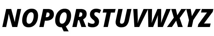 Avrile Sans ExtraBold Italic Font UPPERCASE
