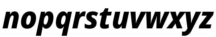 Avrile Sans ExtraBold Italic Font LOWERCASE