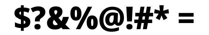 Avrile Sans ExtraBold Font OTHER CHARS